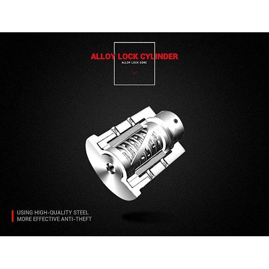 DISK LOCKED ALARM 110dB FOR MOTO AC8305 + SURVEY CABLE + TRANSPORTATION POSITION
