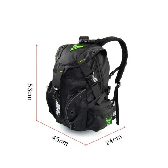 BACKPACK MOTORCYCLE RIDER WATERFROOF 48L MOTOCENTRIC MC-0099