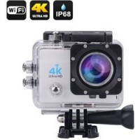 Action Camera ULTRA HD 4Κ WI-FI WATERPROOF – dv124 OEM – ΛΕΥΚΟ