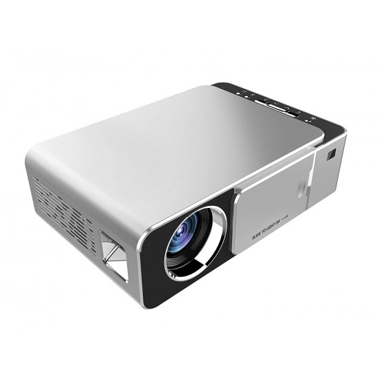 OEM T6 Mini LED Portable HD Multimedia Home Theater Video Projector 1080P 3500ANSI Lumens