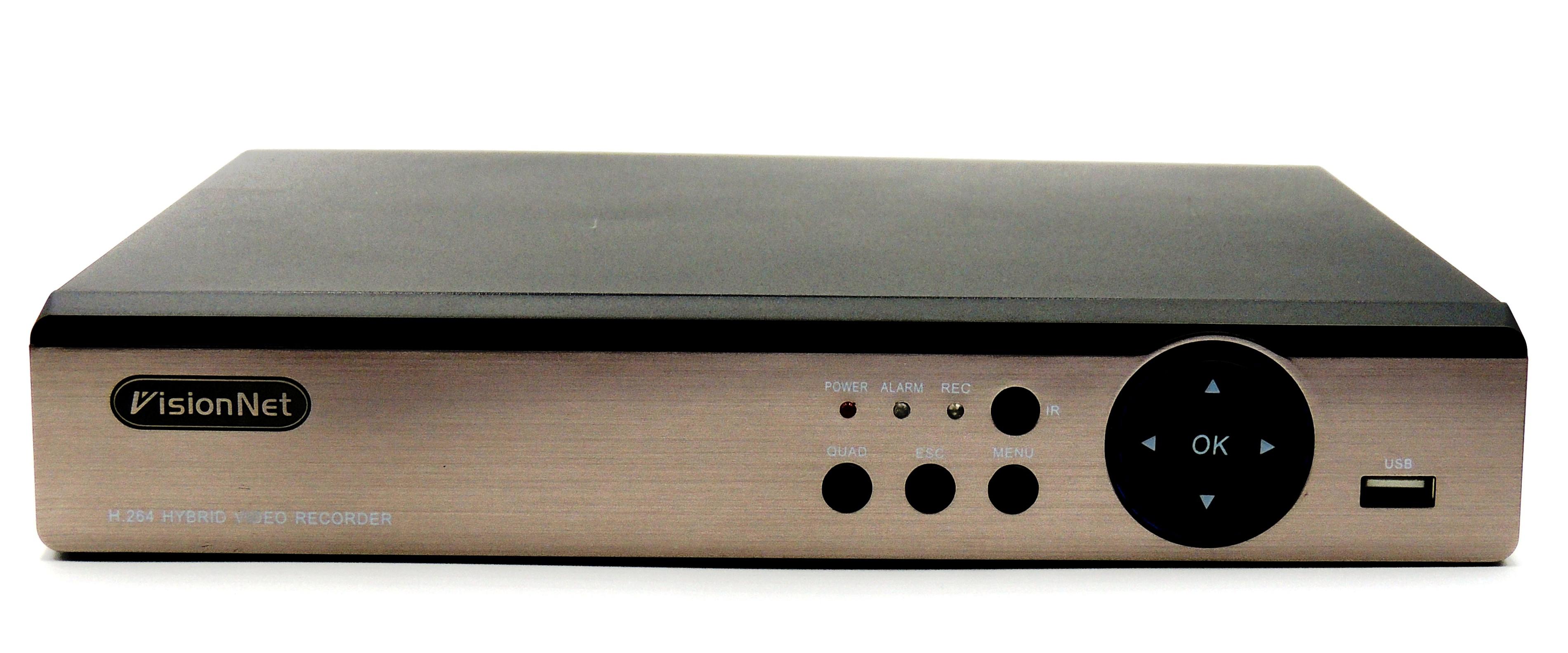 VISIONNET VN-4004 XMEYE ΚΑΤΑΓΡΑΦΙΚΟ 4 ΚΑΝΑΛΙΩΝ Hybrid 2.0 MP  (XVI TVI CVI AHD IP Analog)   Onl   Snif.gr 6f541bf2b3c3